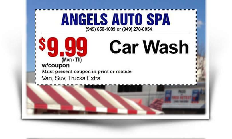 Car wash newport beach costa mesa angels auto spa 2285 car wash coupons solutioingenieria Images